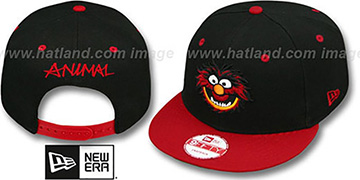 Animal 'MUPPETS' Black-Red Snapback Hat by New Era