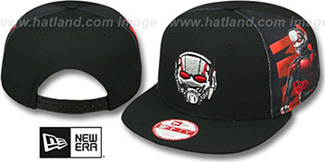 Ant-Man 'SIDE-SUB SNAPBACK' Black Hat by New Era