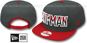 Ant-Man 'SUB-LOGO SNAPBACK' Grey-Red Hat by New Era