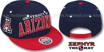 Arizona '2T SUPER-ARCH SNAPBACK' Adjustable Hat by Zephyr
