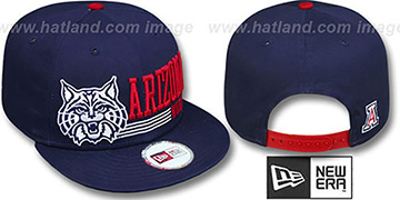 Arizona 'RETRO-SNAPBACK' Navy Hat by New Era