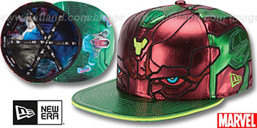 Armor Vision CHARACTER FACE Green-Rust Fitted Hat by New Era