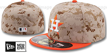Astros '2014 STARS N STRIPES' Fitted Hat by New Era