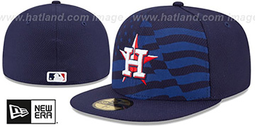 Astros '2015 JULY 4TH STARS N STRIPES' Hat by New Era