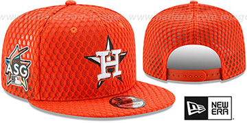 Astros '2017 MLB HOME RUN DERBY SNAPBACK' Orange Hat by New Era