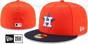 Astros 'AC-ONFIELD ALTERNATE' Hat by New Era