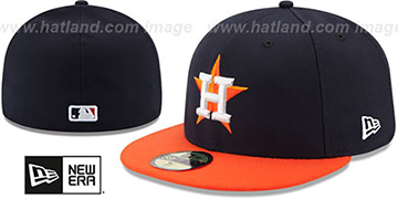 Astros '2017 ONFIELD ROAD' Hat by New Era