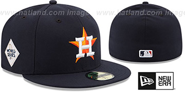 Astros '2017 WORLD SERIES HOME' Hat by New Era