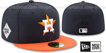 Astros '2017 WORLD SERIES' ROAD Hat by New Era