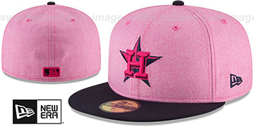 Astros 2018 MOTHERS DAY Pink-Navy Fitted Hat by New Era