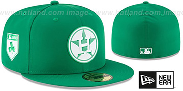 Astros 2018 ST PATRICKS DAY Hat by New Era