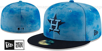 Astros '2019 FATHERS DAY' Fitted Hat by New Era
