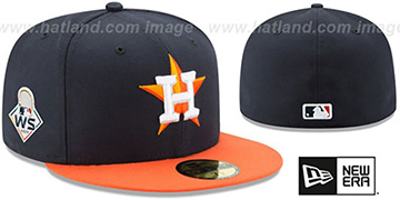 Astros '2019 WORLD SERIES' ROAD Hat by New Era