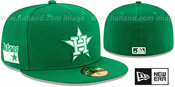 Astros 2020 ST PATRICKS DAY Fitted Hat by New Era