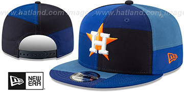 Astros TEAM PATCHWORK SNAPBACK Hat by New Era