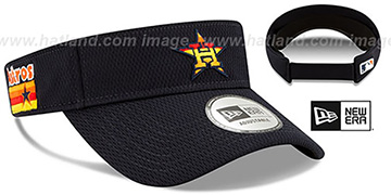 Astros DASHMARK BP VISOR Navy by New Era