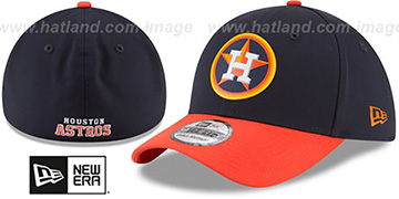 Astros PROLIGHT-BP FLEX Navy-Orange Hat by New Era