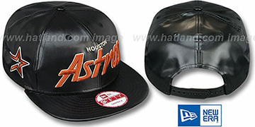 Astros 'REDUX SNAPBACK' Black Hat by New Era
