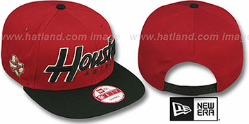Astros SNAP-IT-BACK SNAPBACK Brick-Black Hat by New Era