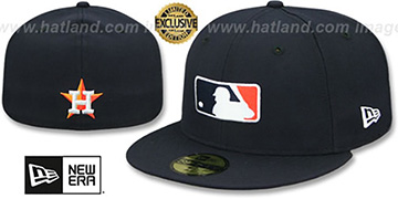 Astros TEAM MLB UMPIRE Navy Hat by New Era