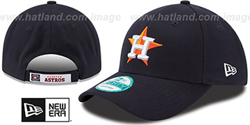 Astros 'THE-LEAGUE HOME STRAPBACK' Navy Hat by New Era