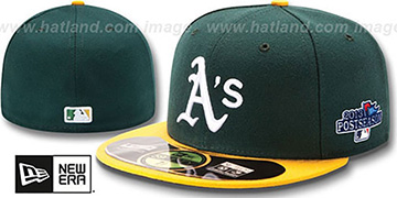 Athletics '2013 POSTSEASON' HOME Hat by New Era