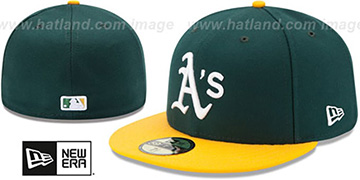 Athletics AC-ONFIELD HOME Hat by New Era