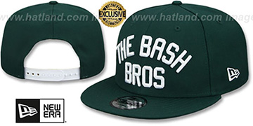 Athletics 'BASH BROS SNAPBACK' Green Hat by New Era