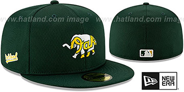 Athletics DASHMARK BP Green Fitted Hat by New Era