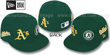Athletics 'EVOLUTION' Fitted Hat by New Era - green