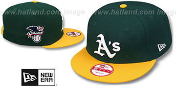 Athletics 'LEAGUE REPLICA HOME SNAPBACK' Hat by New Era
