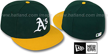 Athletics 'PERFORMANCE HOME' Hat by New Era