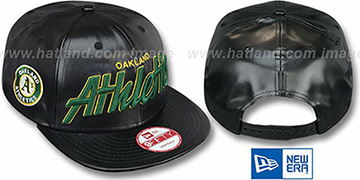 Athletics REDUX SNAPBACK Black Hat by New Era