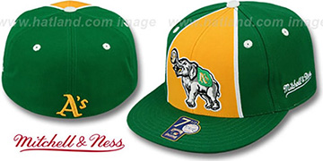 Athletics ZELLA Fitted Hat by Mitchell and Ness