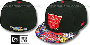 Autobot 'VIZA FACTION' Black Fitted Hat by New Era