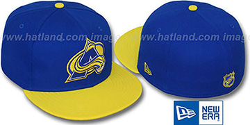 Avalanche '2T-FASHION' Royal-Yellow Fitted Hat by New Era