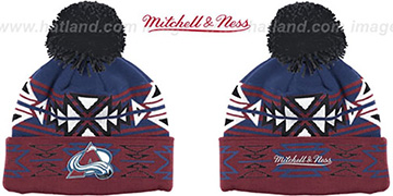 Avalanche GEOTECH Knit Beanie by Mitchell and Ness