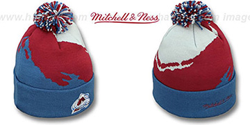 Avalanche PAINTBRUSH BEANIE by Mitchell and Ness