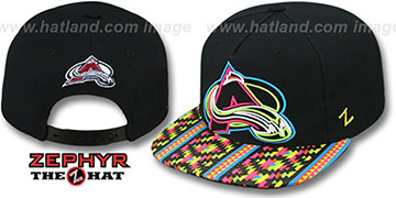 Avalanche 'RAVE-2 SNAPBACK' Black Hat by Zephyr