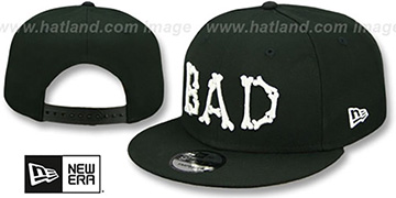 Bad Bones HALLOWEEN COSTUME SNAPBACK Black Hat by New Era