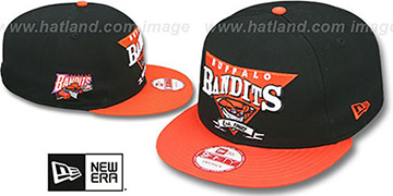 Bandits TEAM ANGLE 9FIFTY Snapback Hat by New Era