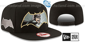 Batman 'RETROFLECT SNAPBACK' Black Hat by New Era