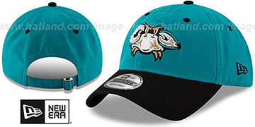 Baysox COPA STRAPBACK Teal-Black Hat by New Era
