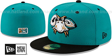 Baysox COPA Teal-Black Fitted Hat by New Era