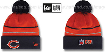 Bears  THANKSGIVING DAY Knit Beanie Hat by New Era