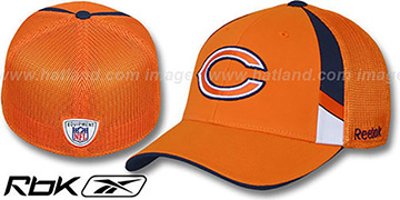 Bears '2009 DRAFT-DAY FLEX' Orange Hat by Reebok