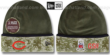 Bears '2014 SALUTE-TO-SERVICE' Knit Beanie Hat by New Era