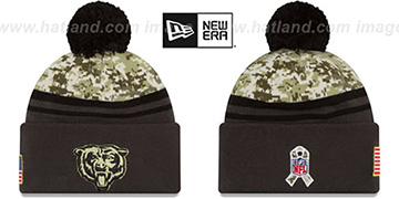 Bears '2016 SALUTE-TO-SERVICE' Knit Beanie Hat by New Era