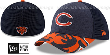 Bears 2017 NFL ONSTAGE FLEX Hat by New Era