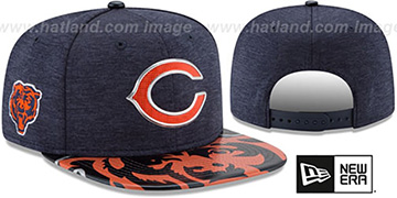Bears 2017 NFL ONSTAGE SNAPBACK Hat by New Era